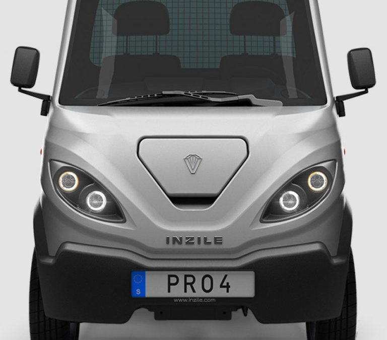 Inzile reveals details on the PRO4 modular electric work vehicle